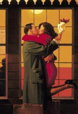 Back where you belong - J. Vettriano
